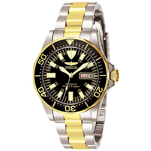 Invicta Men's 7045 Signature Collection Pro Diver Two-Tone Automatic Watch (Best Selling Invicta Watches)