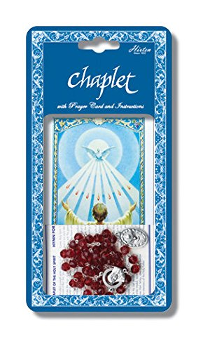 StealStreet SS-Wjh-093 Holy Spirit Deluxe Chaplet with Glass Beads by StealStreet