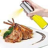 Oil Dispenser, Oil Sprayer Olive Oil Sprayer Glass Bottle Oil Mister Kitchen Grill Pot Cooking Tool 100ML for Salad Frying Baking BBQ (3.42 oz)
