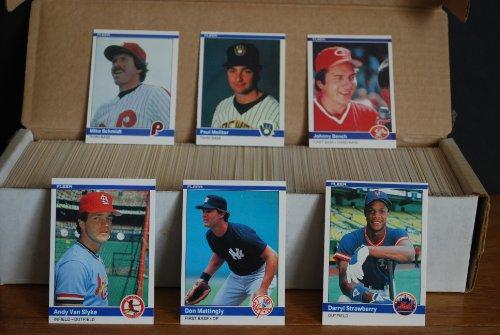 1984 Fleer Complete Baseball Set (660 Cards) (Don Matting...