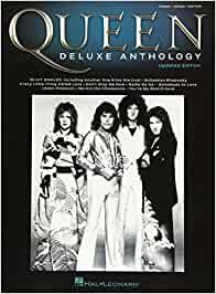 Queen - deluxe anthology updated edition - piano, vocal and guitar