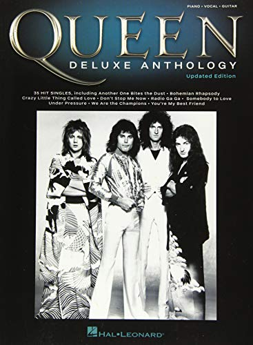 Book : Queen - Deluxe Anthology Updated Edition - Queen