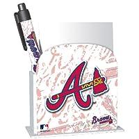 National Design Atlanta Braves Stationery Desk Caddy (11096-GCM)