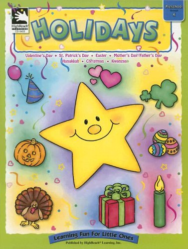 Read Online Holidays: Preschool Through K (Learning for Little Ones) PDF
