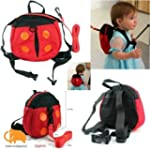 Ardisle Ladybug 2 In 1 Baby'S Backpac...