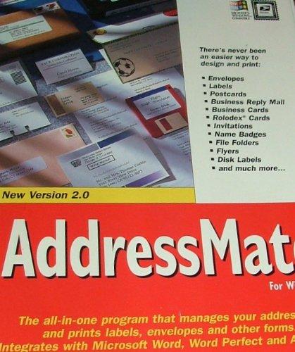 (Addressmate for Windows Address Manager for Word Processor)