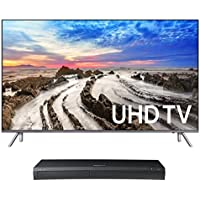 Samsung UN82MU8000 82 4K UHD HDR Smart TV with UBD-M9500 4K Ultra HD Blu-ray Player