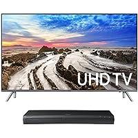 Samsung UN82MU8000 82 4K UHD HDR Smart TV with UBD-M9500 4K Ultra HD Blu-ray Player