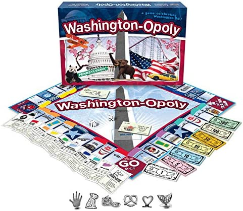 Late For The Sky Childrens Board Games Washington Dc-Opoly by Late for the Sky: Amazon.es: Juguetes y juegos