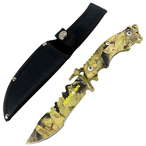 Hunt-Down-10-Stainless-Steel-Full-Tang-Survival-Hunting-Knife-Camo-Handle