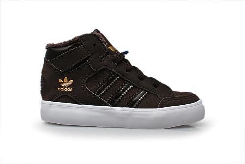 adidas - Zapatillas Altas Unisex Niños, Marrón (Brown White), 40: Amazon.es: Zapatos y complementos