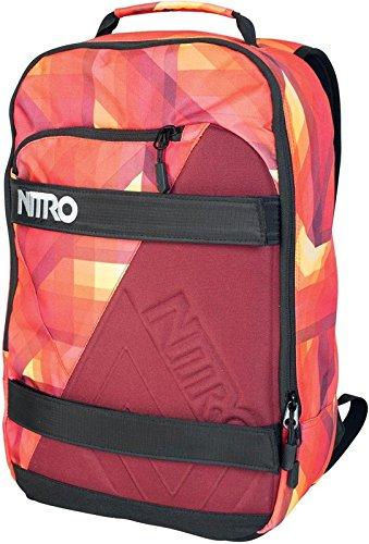 Nitro Snowboards Sac à dos Axis Rouge - Feu géométrique