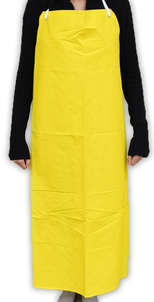 Big and Tall industrial Waterproof PVC Apron 50 x 34'' Reinforced Fabric