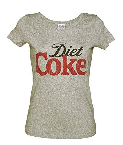 Win-Tshirts Womens Diet Coke Scoop Neck T Shirt