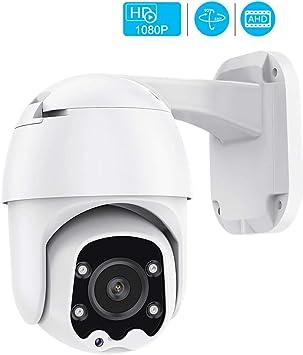 Opinión sobre Ahd Camera 4 Array Leds 1080p Speed Dome Camera IR Night Vision Ptz CCTV Cámara de vigilancia Xm XVI Control coaxial Cámara con 12V 2A