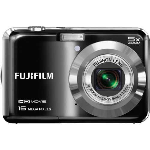 Fujifilm FinePix AX650 16MP Digital Camera with 2.7-Inch LCD (Black)