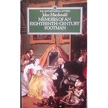 Memoirs of an Eighteenth-Century Footman, 1745-79
