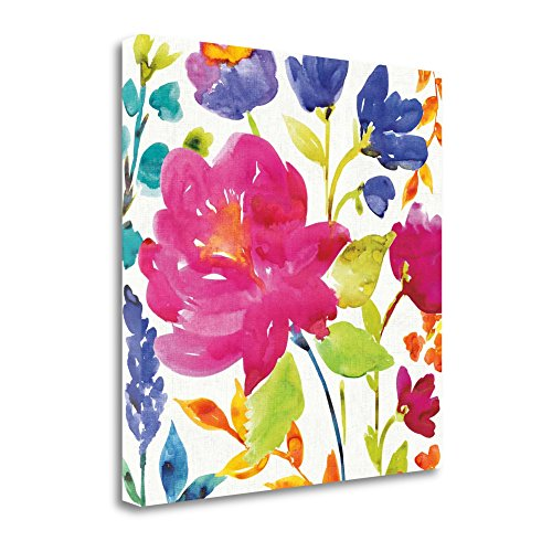 Tangletown Fine Art WA613209-3535c Floral Medley II by Wild Apple Portfolio Wall Art