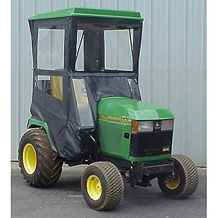 John Deere 445 >> Amazon Com Hard Top Cab Enclosure Fits John Deere 425 445 455