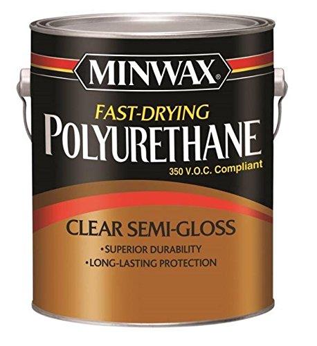 Minwax 319010000 Polyurethane, Gallon, Semi-Gloss