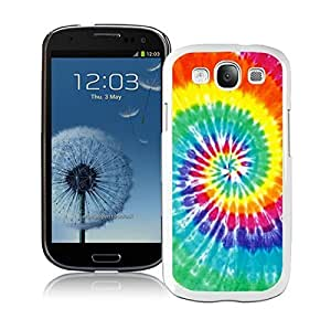 BINGO Seasons Tie Dye Samsung Galaxy S3 i9300 Case White Cover