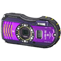 Pentax Optio WG-3 GPS purple 16 MP Waterproof Digital Camera with 3-Inch LCD Screen (Purple)
