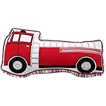 Cozy Line Decorative Fire Truck Toy Pillow