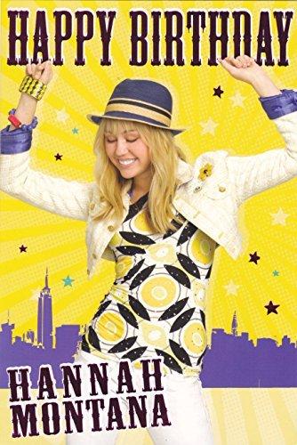 Hannah Montana - Birthday Card 9x6 by Hannah Montana
