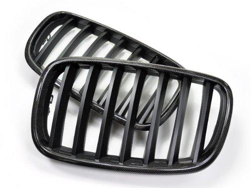 E71 Series (AutoTecknic Carbon Fiber Front Grile - BMW e70 X5/X5M e71 X6/X6M series)