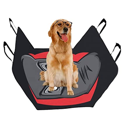 Amazon.com : VNASKL Dog Seat Cover Custom Angry Masked Ninja ...