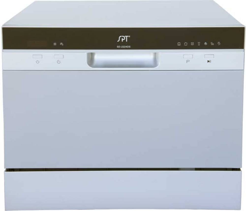 Sunpentown SD-2224DS Countertop Dishwasher