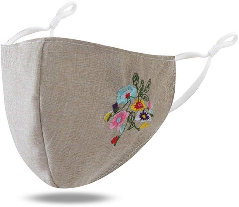 Bandana para mujer, diseño floral pequeño para verano, protección solar, lavable, ajustable sin costuras, apto para uso diario