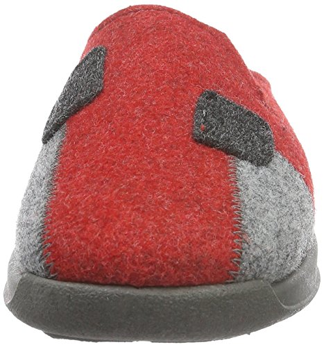 Doublure à Chaude 43 Rohde Cherry Femme Vaasa D Chaussons Rot Rouge IFqgxBSg