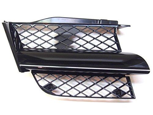 Front Left Radiator Grille Black Genuine OEM: