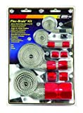 Mr. Gasket 8090 Red Flex-Braided Hose Sleeve Kit