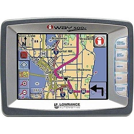 Amazon.com: Lowrance 112 – 362 iway 500 C Portable GPS ...