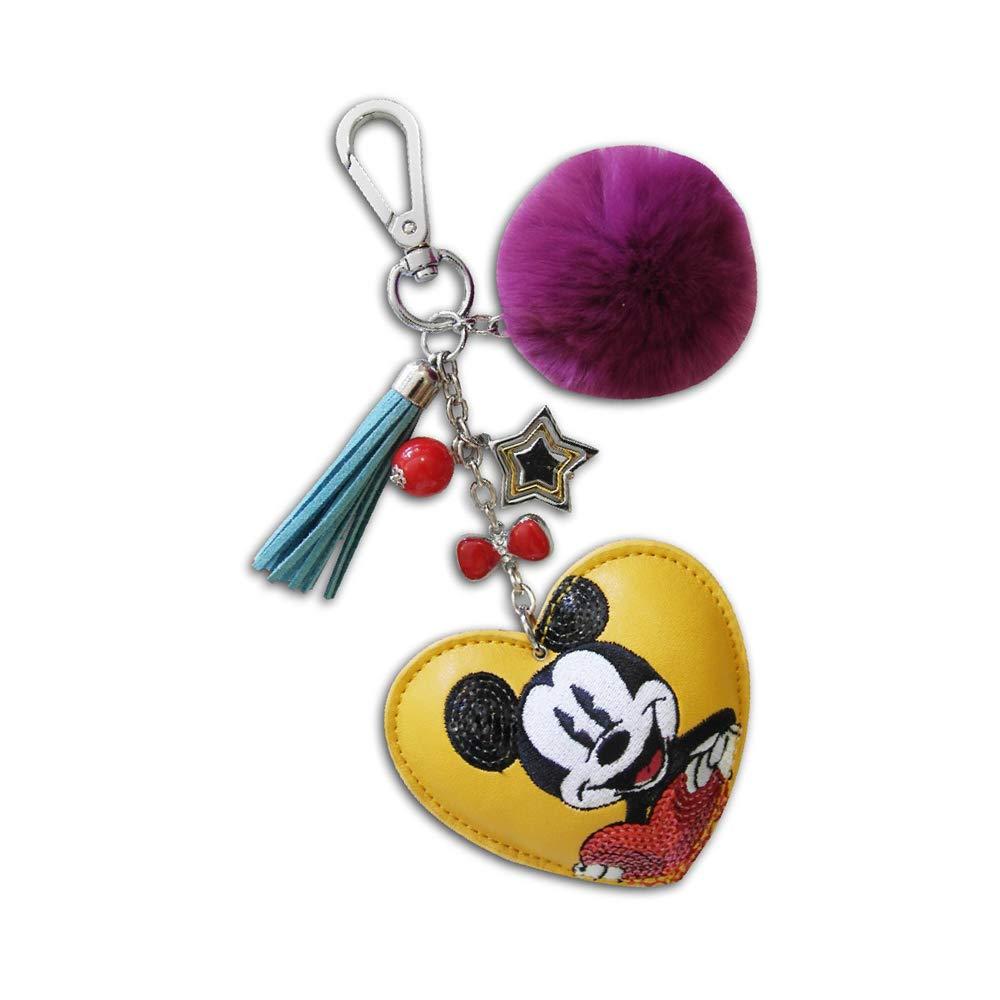 KICKKICK® Llavero Mickey Mouse Original Disney - de Piel ...