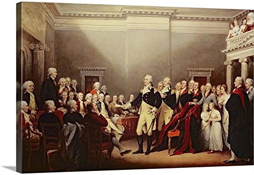 The Resignation of George Washington on 23rd December 1783
