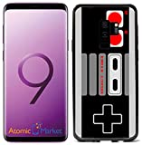 Old School Gaming Controller for Samsung Galaxy S9 Plus + 2018 Case Cover by Atomic Market
