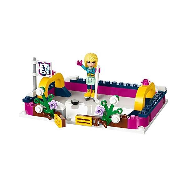 LEGO- Friends Pista di Pattinaggio del Villaggio Invernale Costruzioni Piccole Gioco, Multicolore, 41322 5 spesavip