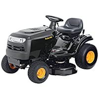California Compliant Tough Action Reliable Durable Poulan PRO 42 in. 17-1/2 HP Briggs & Stratton 6-Speed Gear Front-Engine Riding Mower - Maintain Your Lawn In Comfort! by Poulan PRO