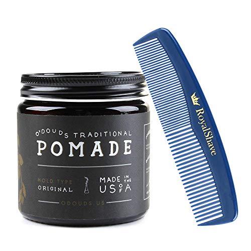 O Douds Original Pomade + RoyalShave Unbreakable Comb Set!