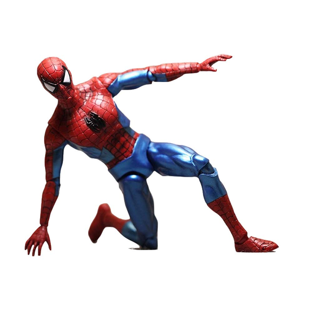 Jiu Si- Spiderman - Movie Character Model 18cm, Joints Can Be Hand-operated Model PVC Material Toy model