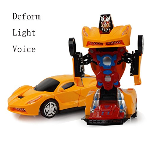 Deforman De Low Juguete Y Con Voz Robot Coche Luz Cost Polade T31JclFK
