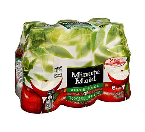 Minute Maid Apple Juice with vitamin C, Fruit Juice Drink, 10 fl oz, 6 Pack