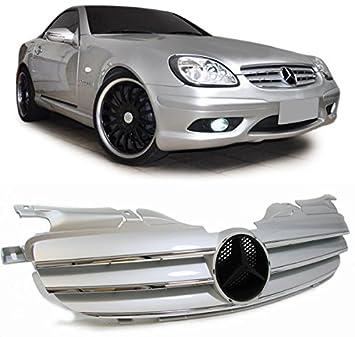 Rejilla delantera sport parrilla de calandra frontal de tres lamas con diseño deportivo look CL AMG