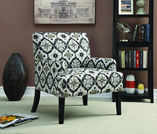 coaster home furnishings pattern accent chair