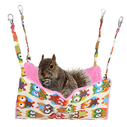 Jocestyle Pet Rat Hanging Hammock. Easy to Position.