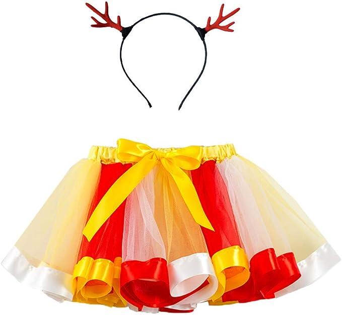 K-Youth Disfraz Vestido de Fiesta Chica Navidad Cosplay Falda de ...