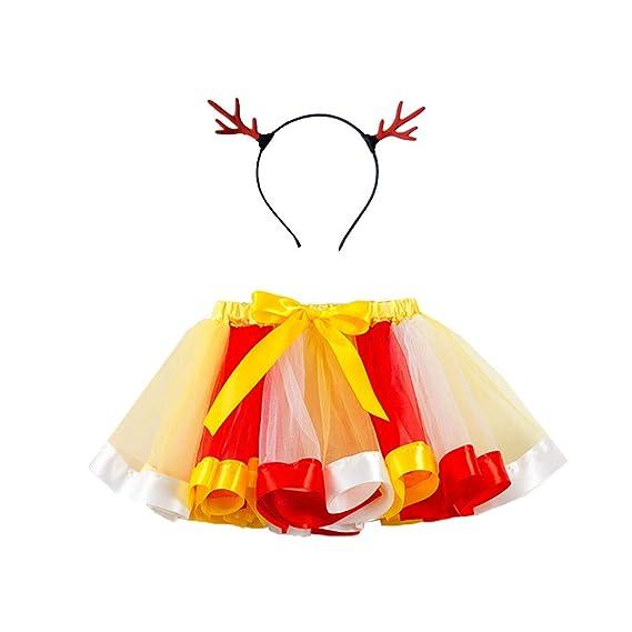 K-Youth Disfraz Vestido de Fiesta Chica Navidad Cosplay ...